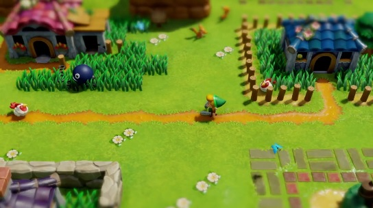 Links Awakening Remake Gameplay