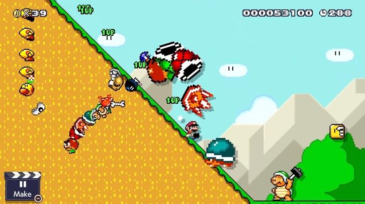 Mario Maker 2 Slopes