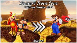 Mario Odyssey Treasure Trove Cove Custom Level
