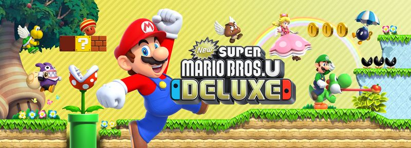 New Super Mario Bros U Deluxe Artwork