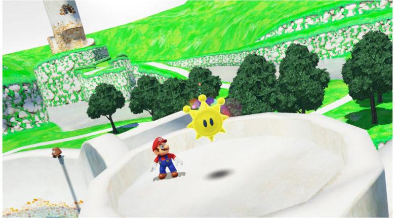 Bianco Hills Mario Odyssey