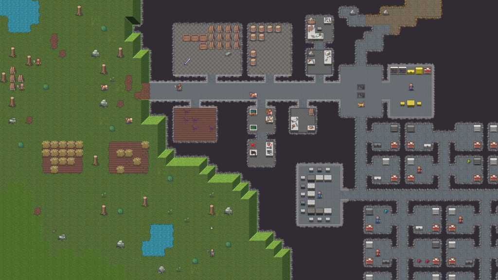 Dwarf Fortress Preview 1