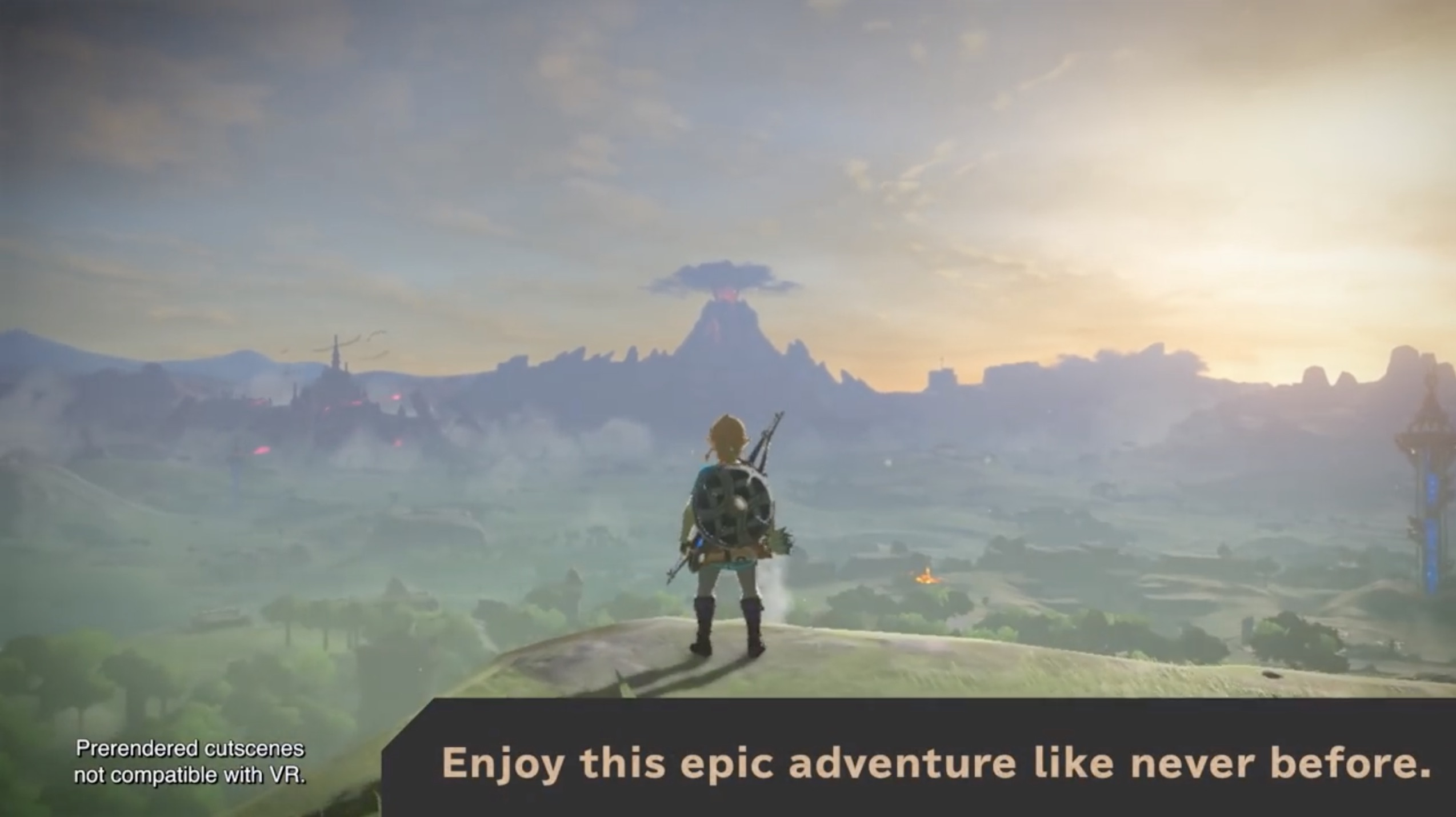 Breath Of The Wild VR Update