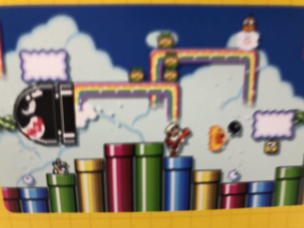 Super Mario World sky level