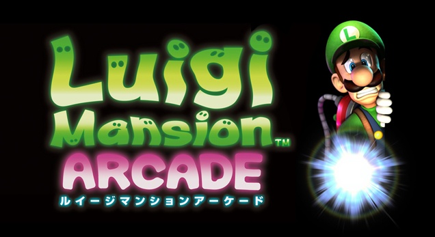 Luigi Mansion Arcade Artwork