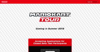 Mario Kart Tour Website