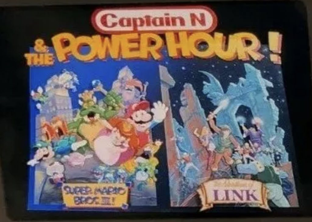 Captain N Power Hour