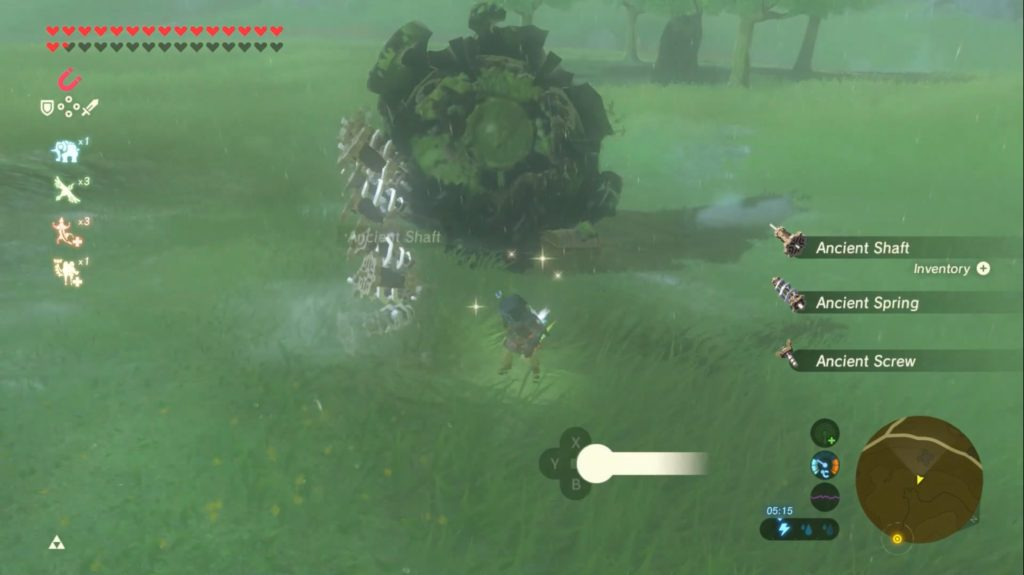 A Major New Bug Lets You Get Infinite Ancient Parts And Treasure In Zelda Breath Of The Wild Gaming Reinvented