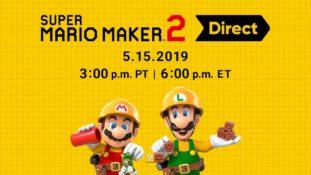 Super Mario Maker 2 Direct Banner