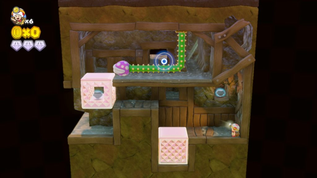 Unused Mineshaft Level