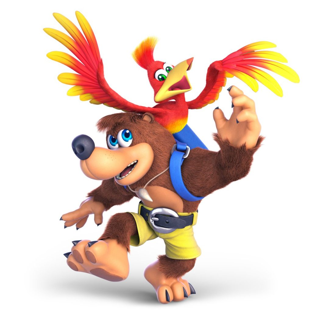 Banjo-Kazooie Smash Bros Artwork