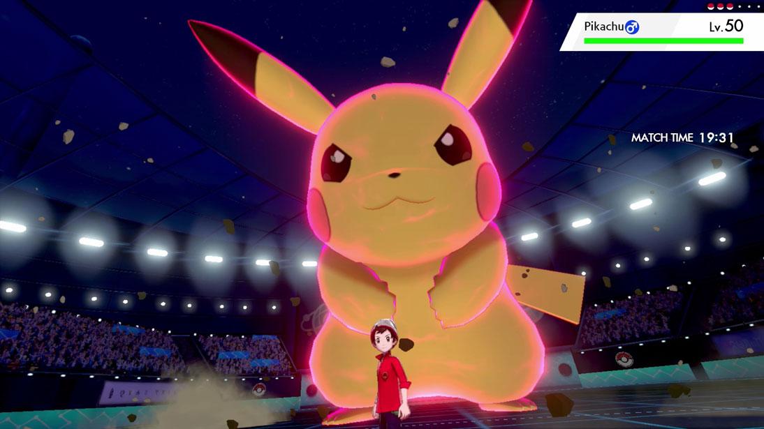Giant Pikachu