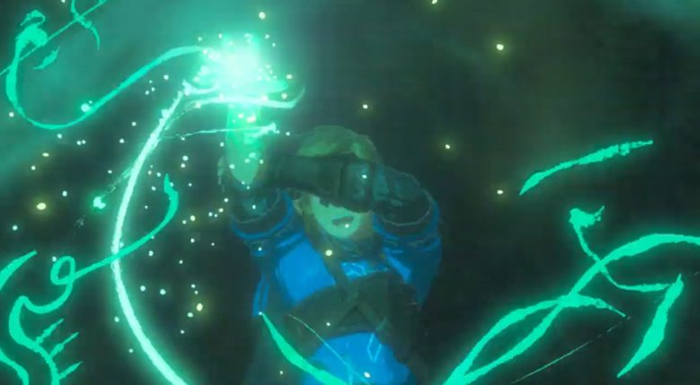 Link's Glowing Hand