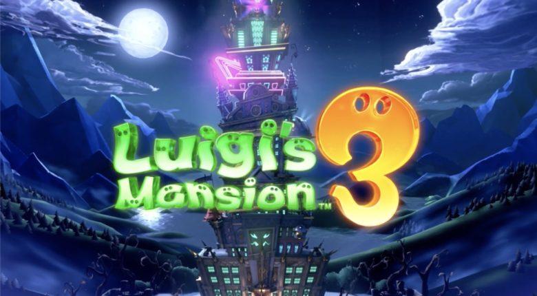 Luigis Mansion 3 Title