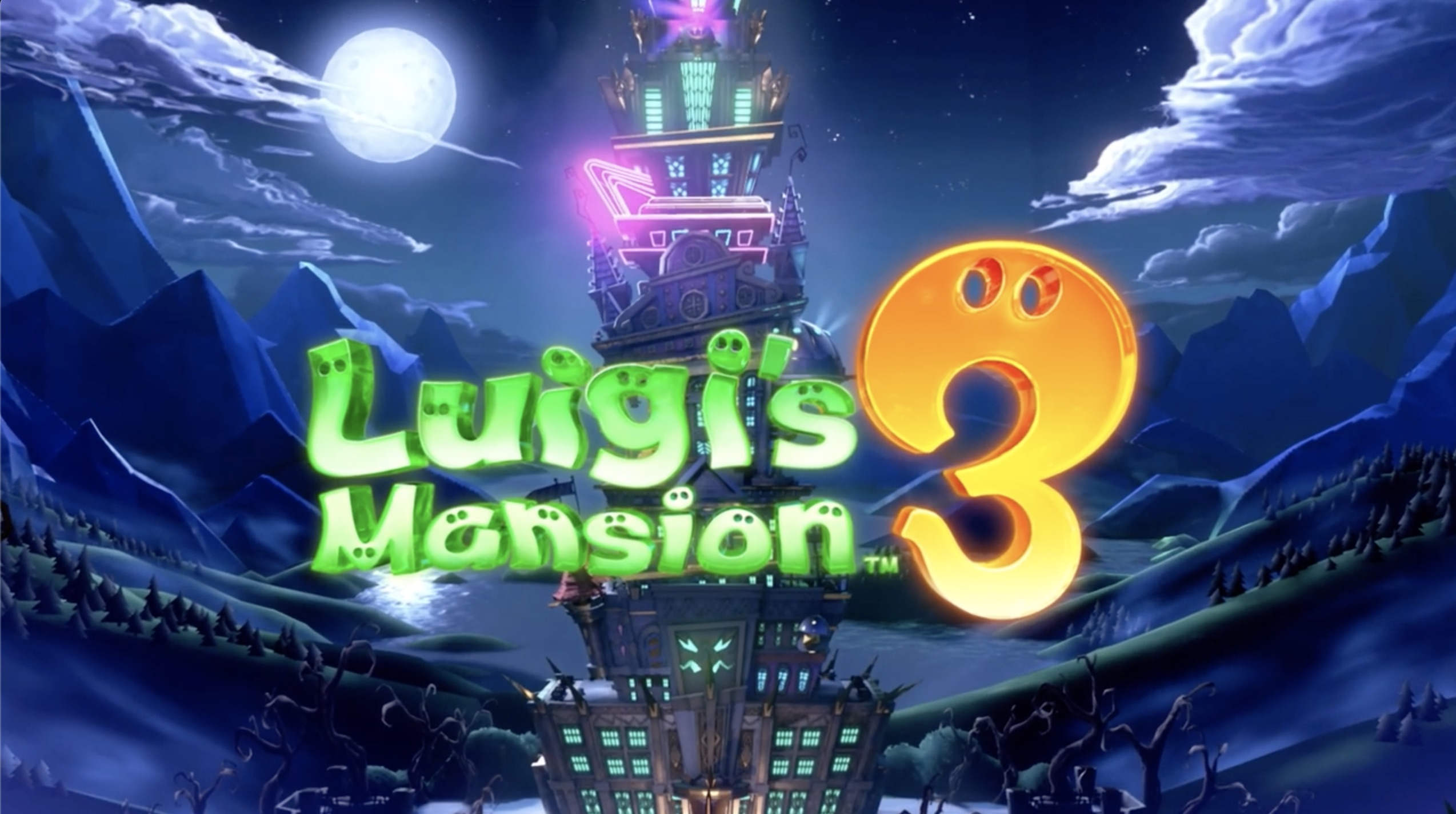 Luigis Mansion 3 Title
