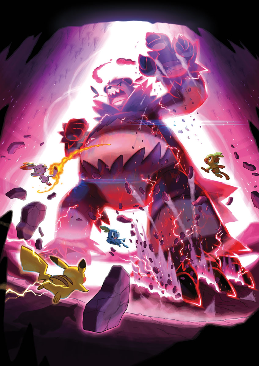 Max Raid Battle Art