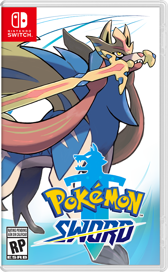 Pokemon Sword Box Art