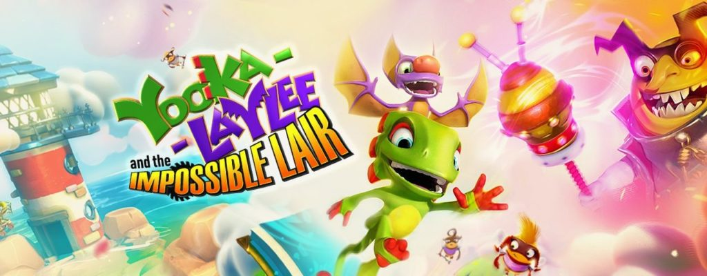 Yooka-Laylee Impossible Lair Artwork