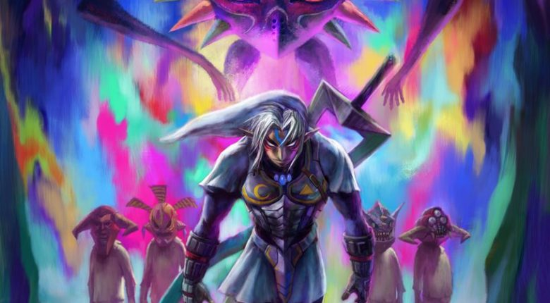 MM3D Fierce Deity and Majora