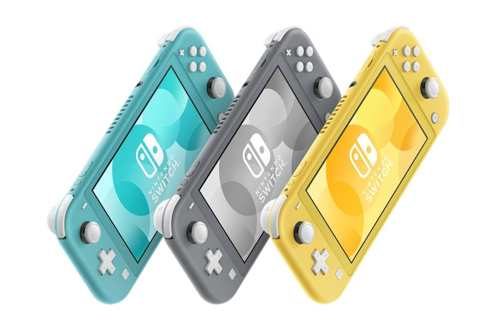 Nintendo Switch Lite Colours