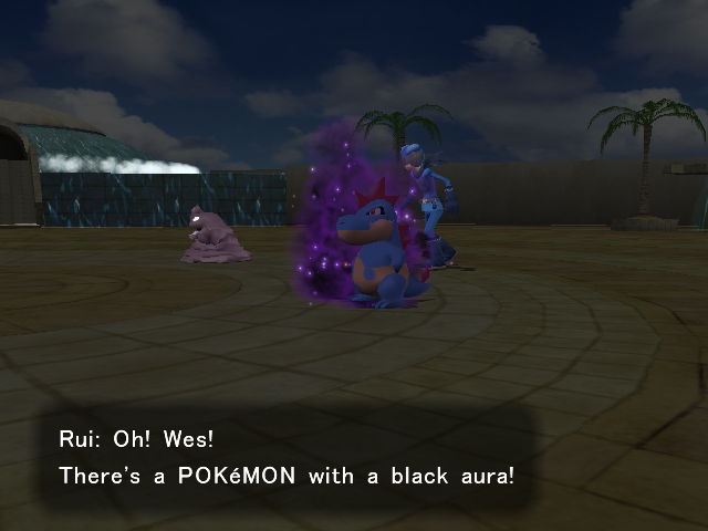 Shadow Pokémon Encounter