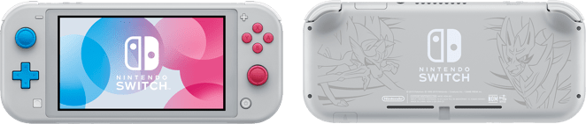 Switch Lite Sword and Shield Version