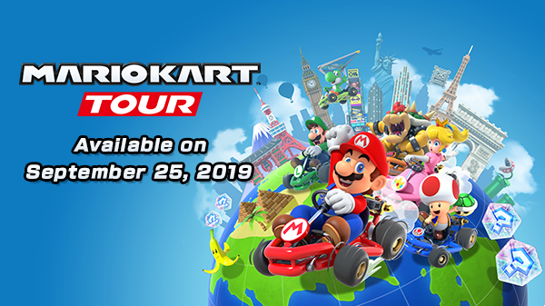 Mario Kart Tour Available on September 25th 2019