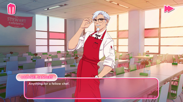 Colonel Sanders in game