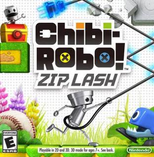 Chibi Robo Zip Lash 3DS boxart
