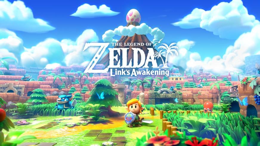 Link's Awakening Switch Artwork
