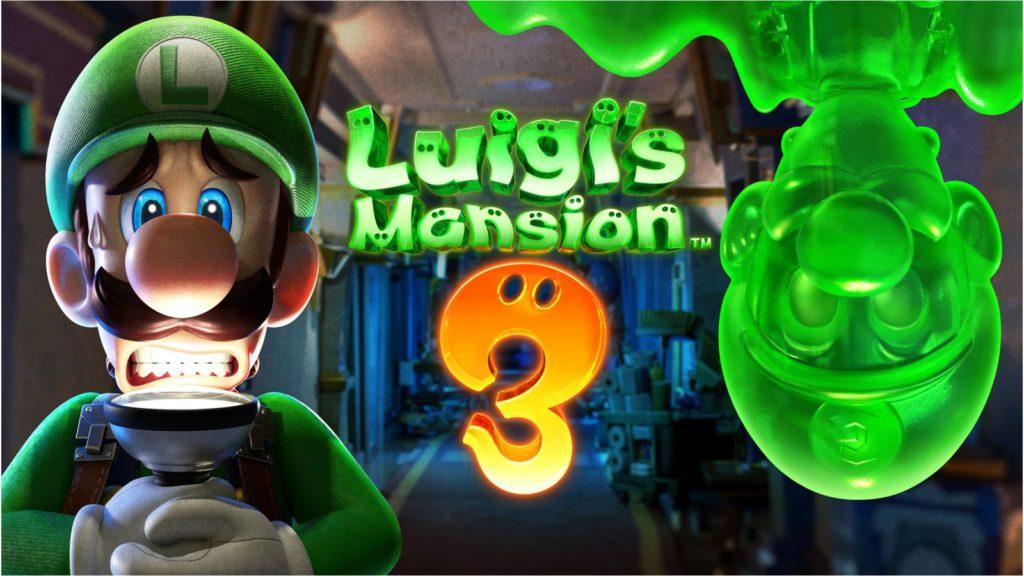Luigi's Mansion 3 Scene