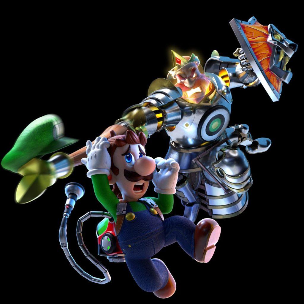 King MacFright and Luigi
