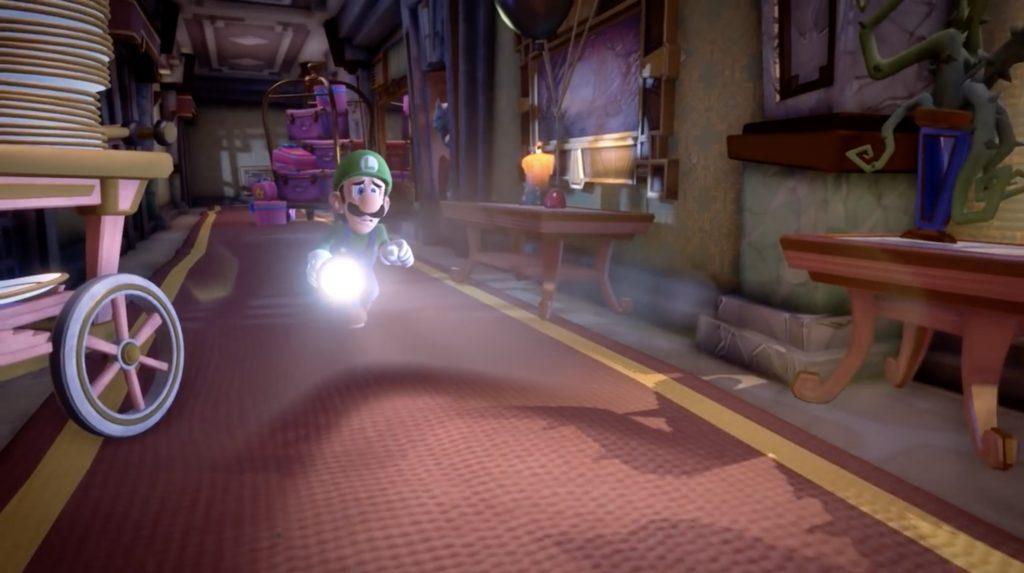 Luigi Corridor Front