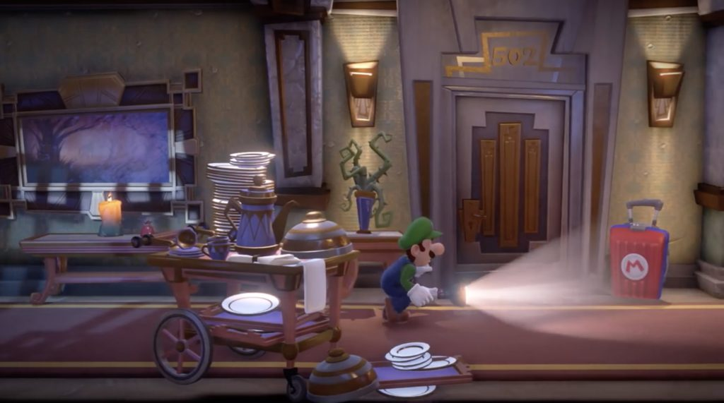 Luigi Intro Explore