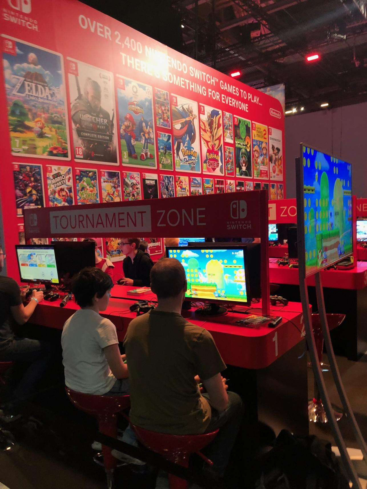 Nintendo Booth EGX