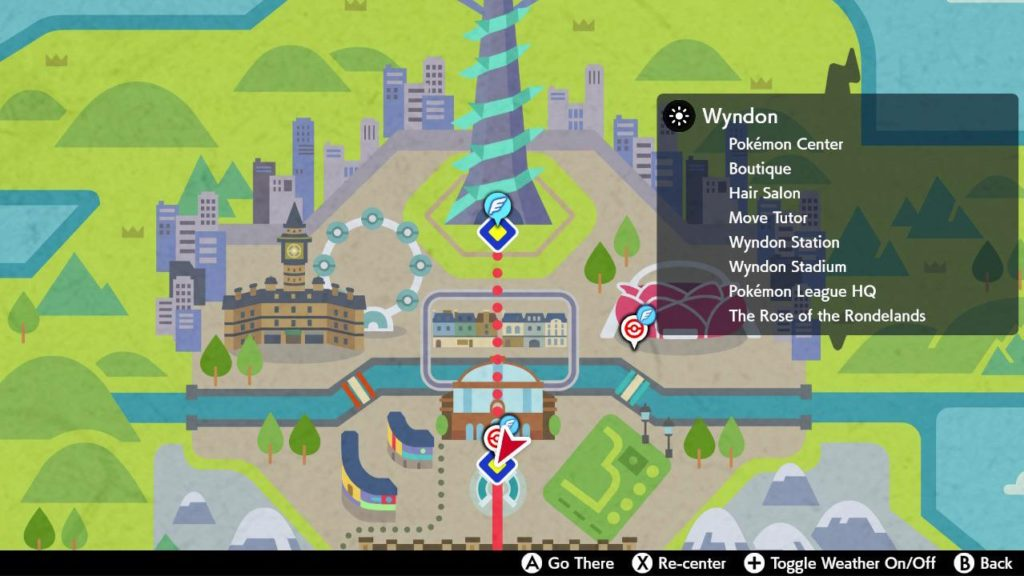 Wyndon Map