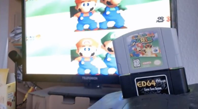 Mario 64 Co-op Mod Demo