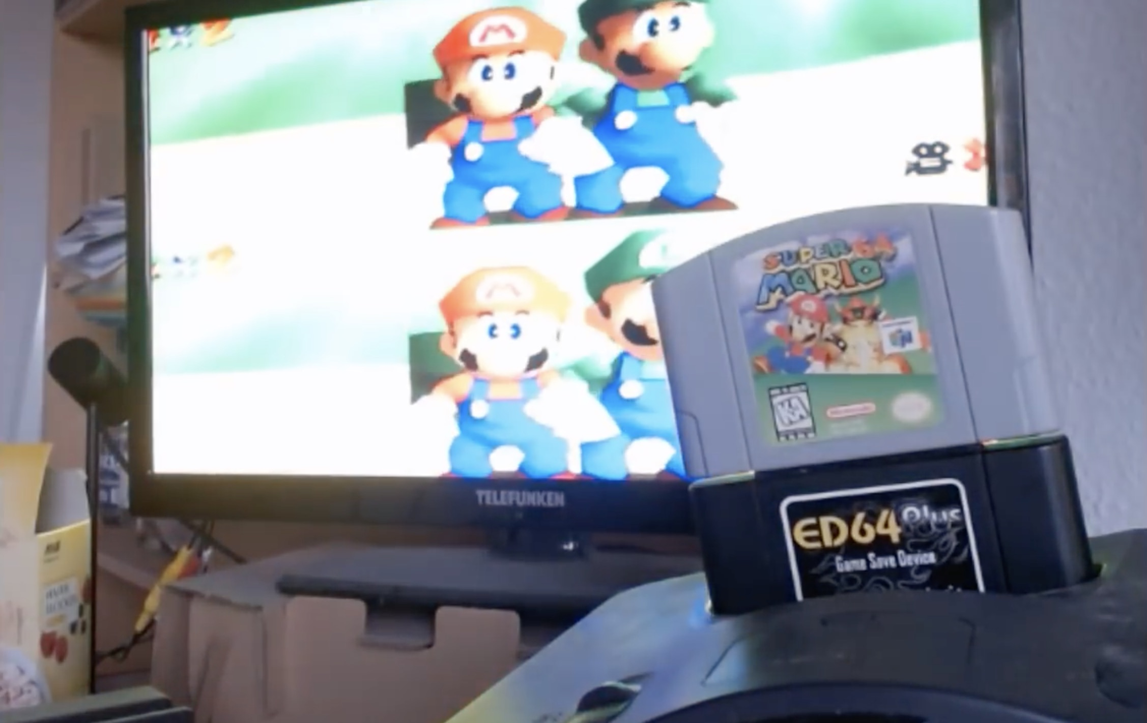 Super Mario 64 Is Getting Split Screen Multiplayer Gaming Reinvented