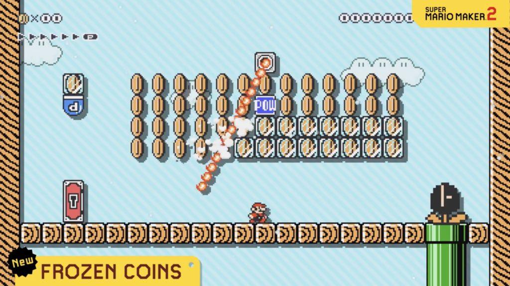 Mario Maker 2 Frozen Coins 2