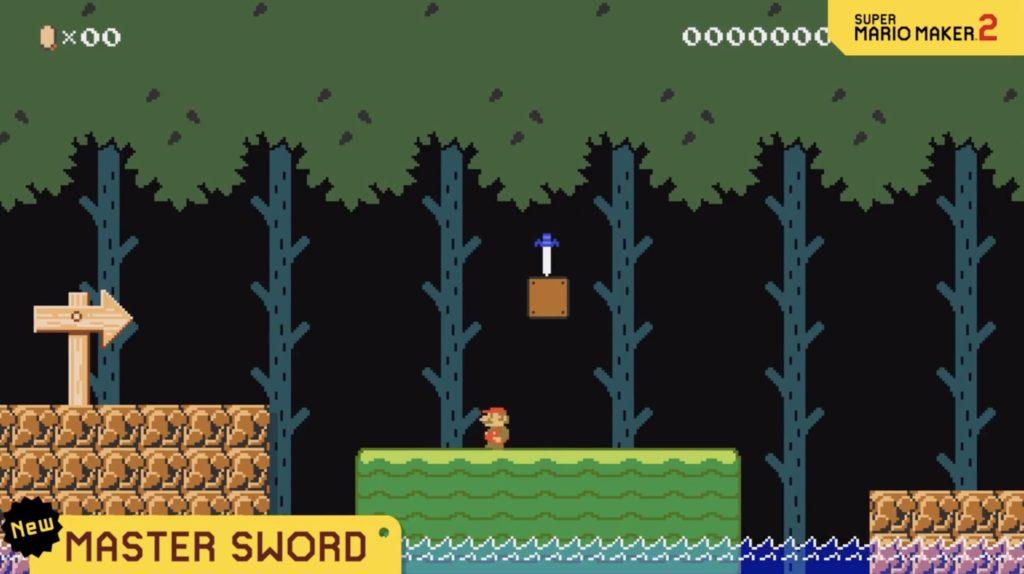 Mario Maker 2 Master Sword