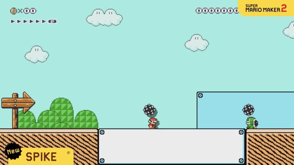 Mario Maker 2 Spike