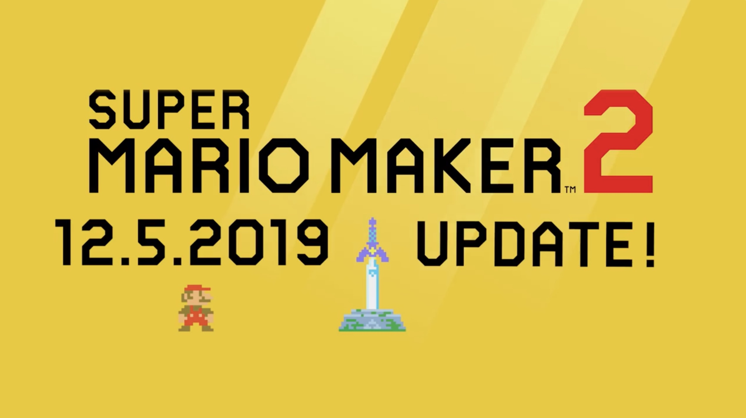 Super Mario Maker 2 Update