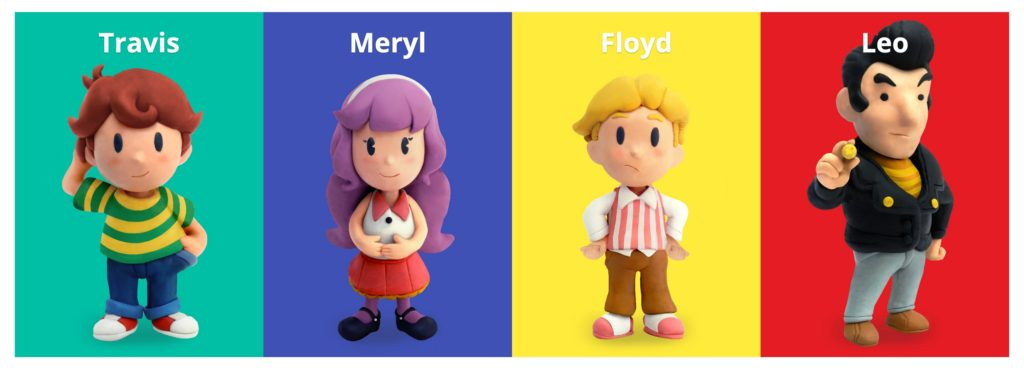 Mother 4 Characters