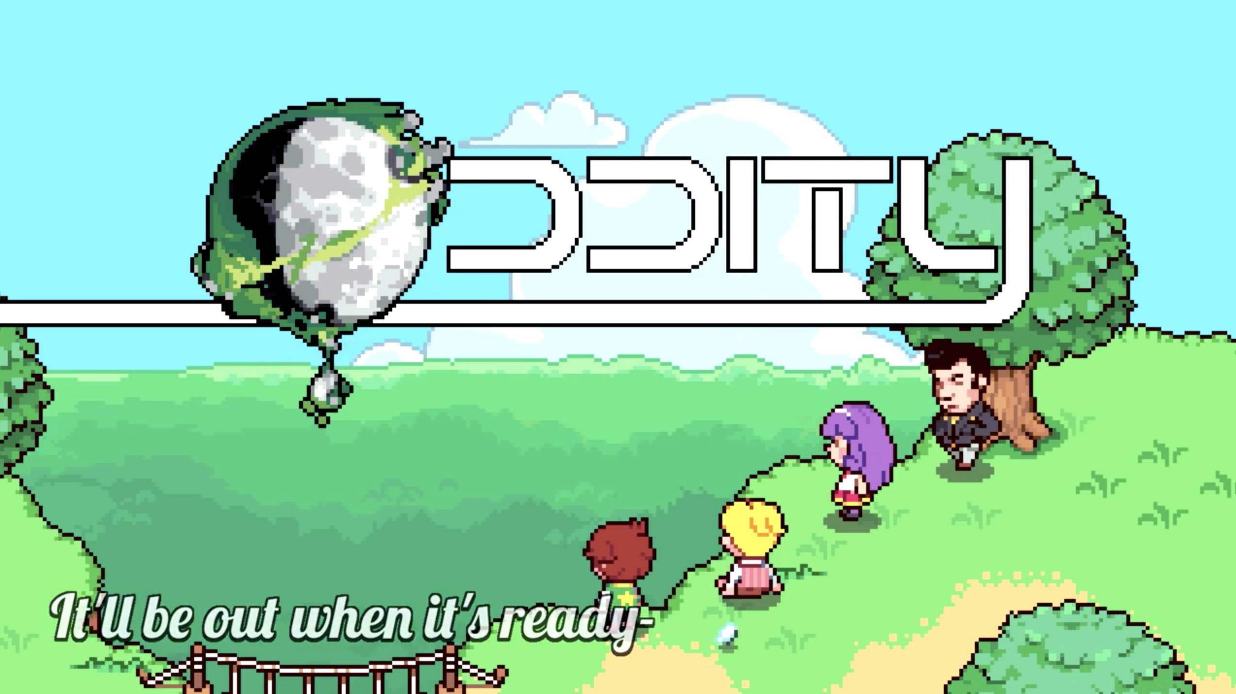 Oddity Title Screen