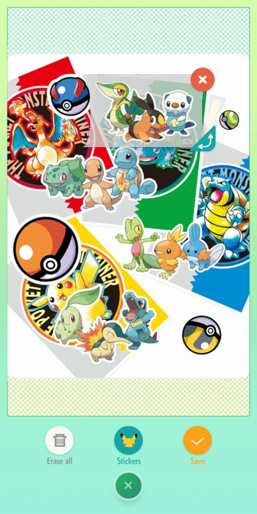 Pokemon HOME Stickers