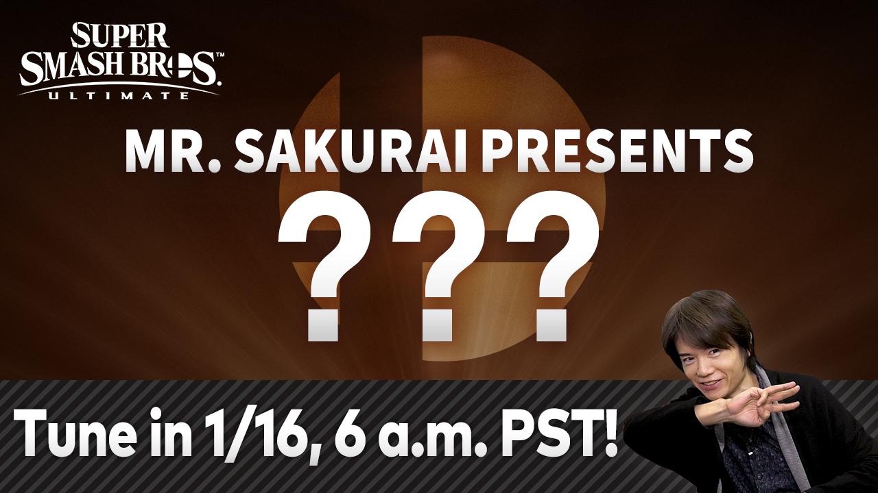 Super Smash Bros Ultimate Newcomer Livestream