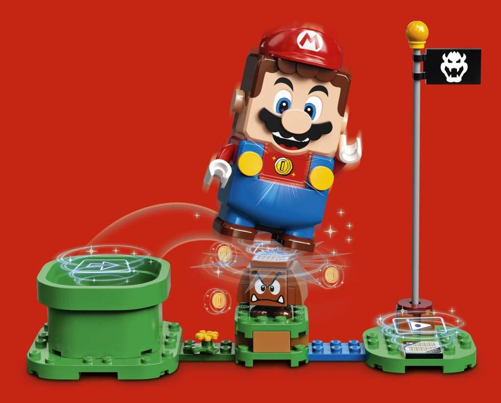 LEGO Mario Artwork