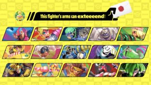 Smash Bros ARMS Announcement