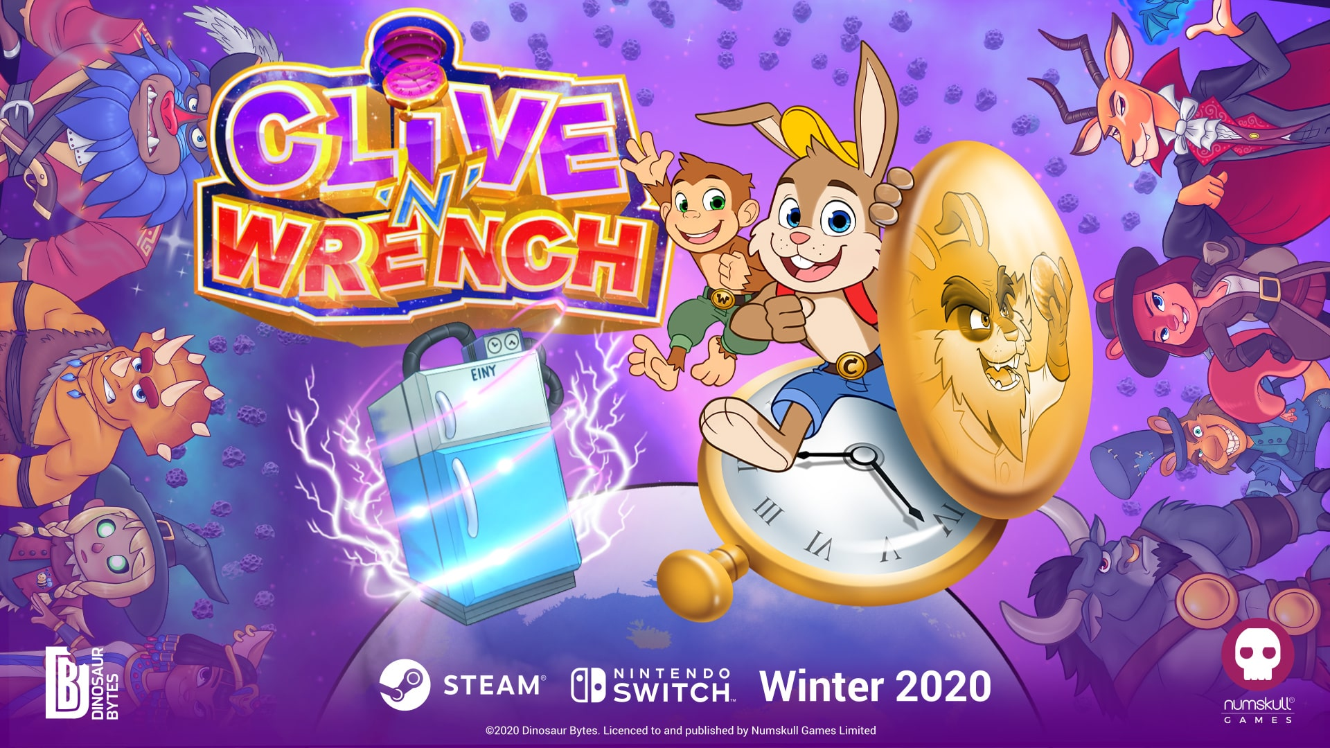 Clive 'N' Wrench Featured Artwork