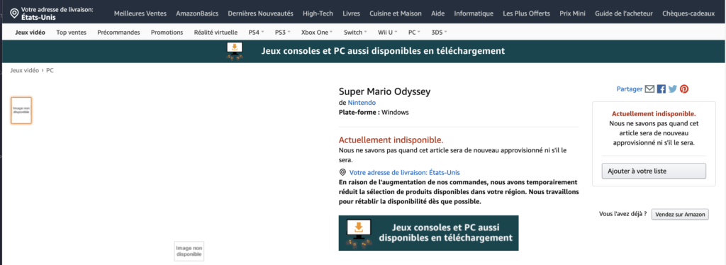 Fake Mario Odyssey Page